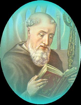 Le Saint du Mois de Février - Saint Benoît  - Puissant