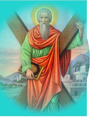Le Saint du Mois de Novembre - Saint André - Victorieux