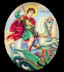 Le Saint du Mois de Avril - Saint Georges - Martyr