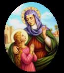 Le Saint du Mois de Juillet - Sainte Anne - Glorieuse