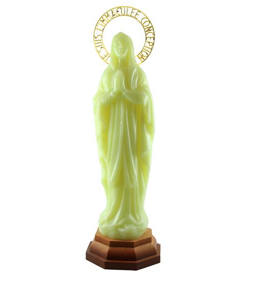Notre dame lourdes  lumineuse  (30 cm)