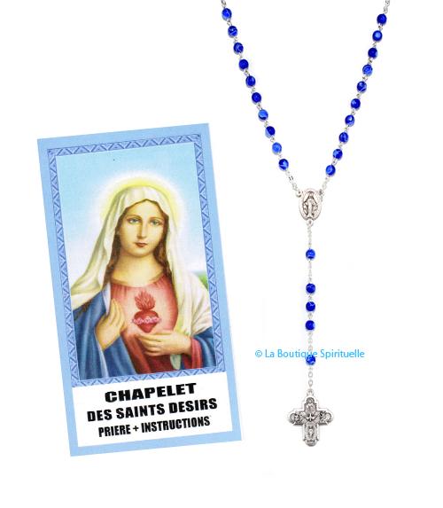 Chapelet Saints Désirs