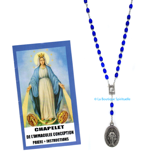 Chapelet notre dame des miracles dite miraculeuse
