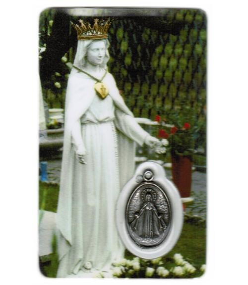 Carte de priere notre dame des roses
