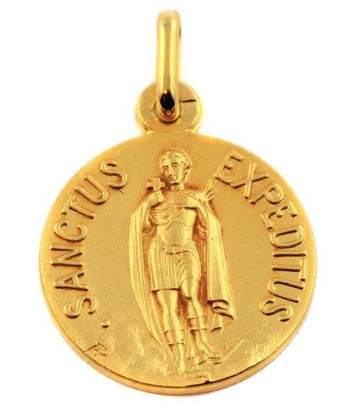 Médaille saint expédit