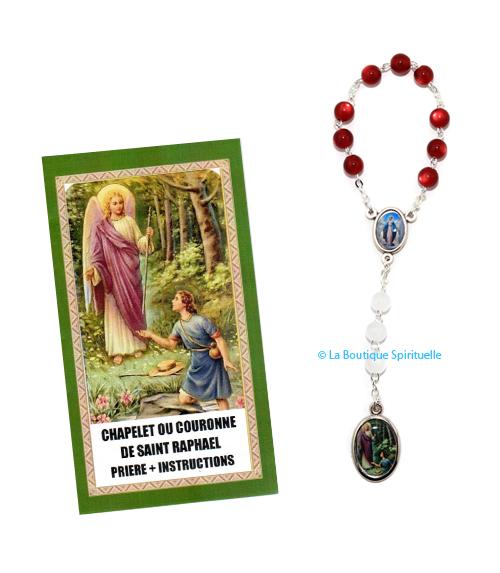Chapelet saint raphael