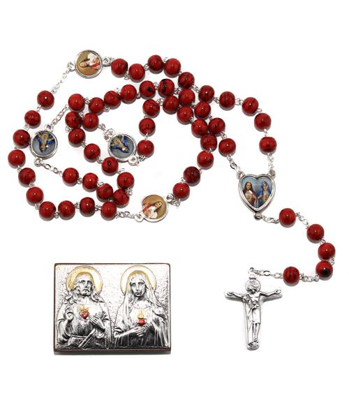 Chapelet Coeurs Marie et J�sus