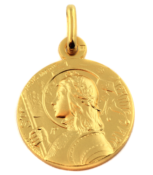 Medaille sainte jeanne d'arc