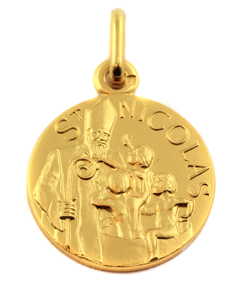 Medaille saint nicolas