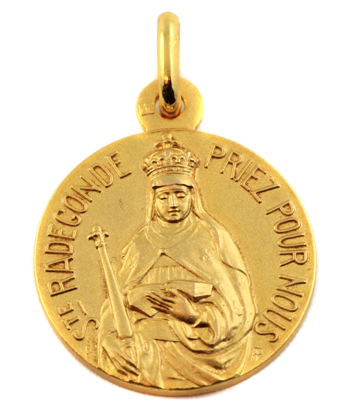 Medaille sainte radegonde