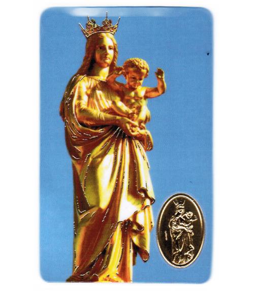 Carte de prière Notre Dame de la Garde