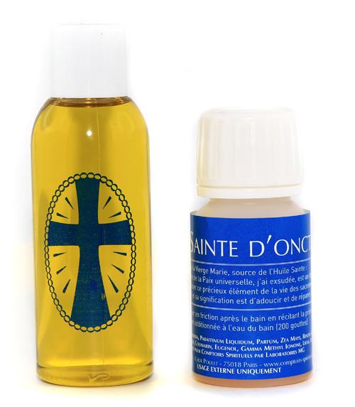 Huile sainte d'onction (25 ml)