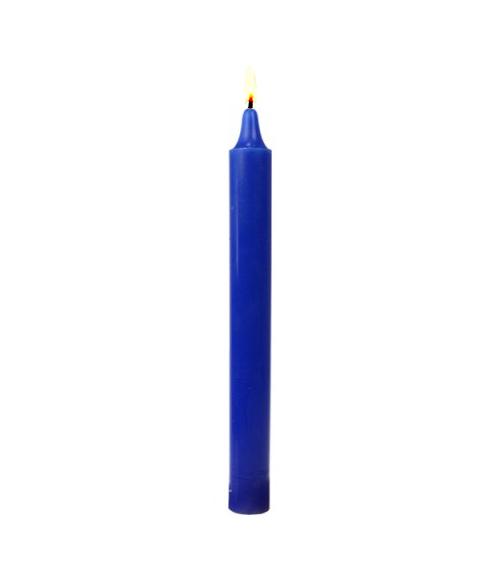 Bougie bleue marine