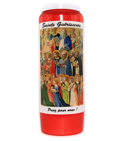 Bougie saints guérisseurs