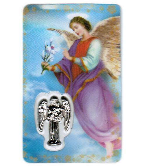 Carte de priere ange gabriel