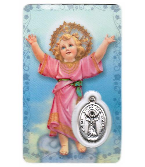 Carte de priere enfant divin