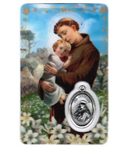 Carte de priere saint antoine