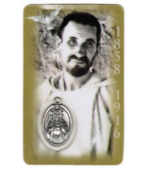 Carte de priere père charles de foucault