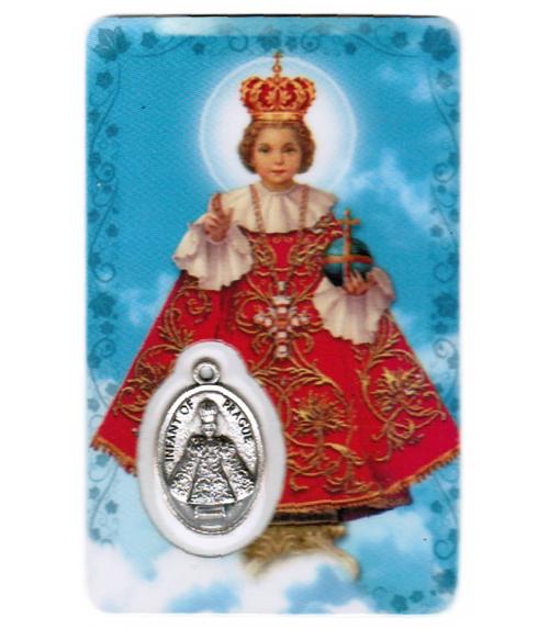 Carte de priere jésus de prague