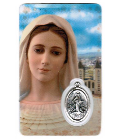 Carte de priere notre dame de medjugorje