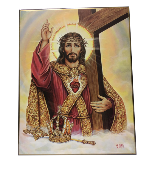 icone Christ Roi Protecteur