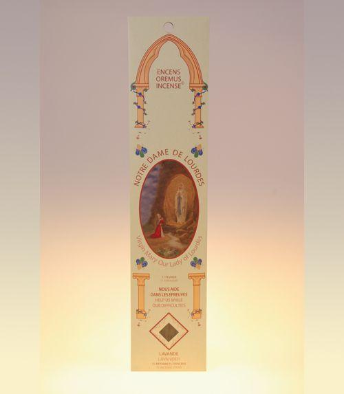 Encens ave maria Notre Dame de Lourdes (lavande)