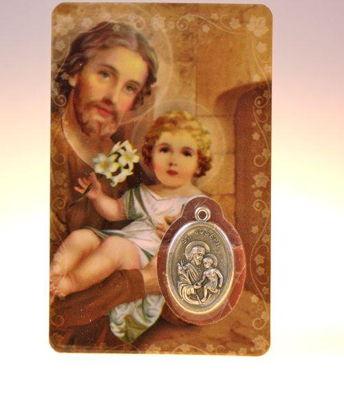 Carte de priere saint joseph