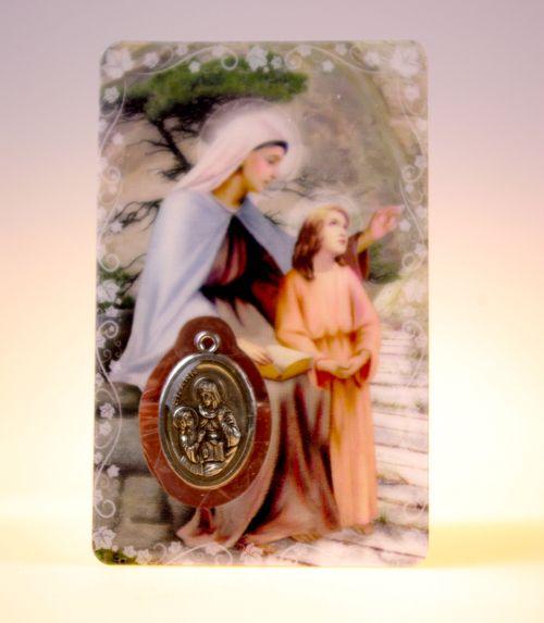 Carte de priere sainte anne