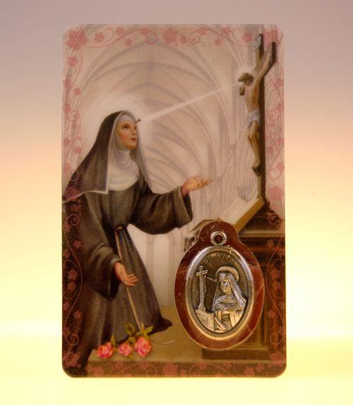 Carte de priere sainte rita