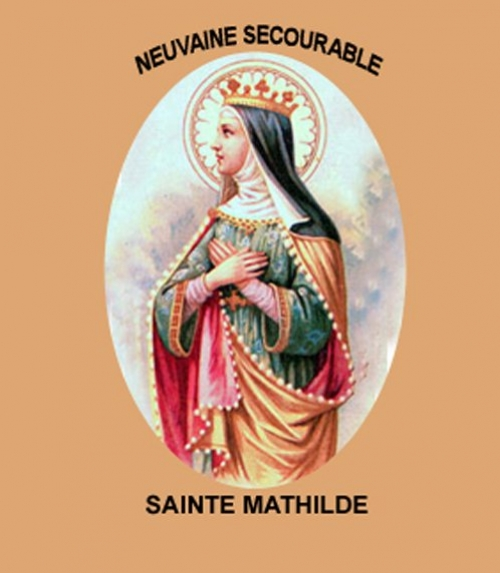 Neuvaine secourable Sainte Mathilde