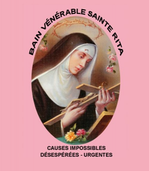 BAIN VENERABLE SAINTE RITA