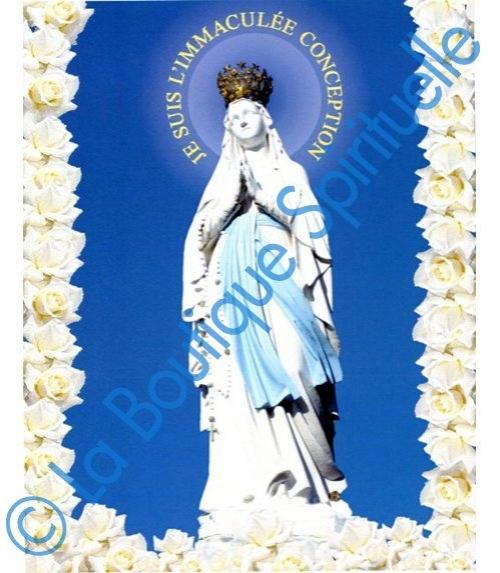 Image Sainte Notre Dame de Lourdes