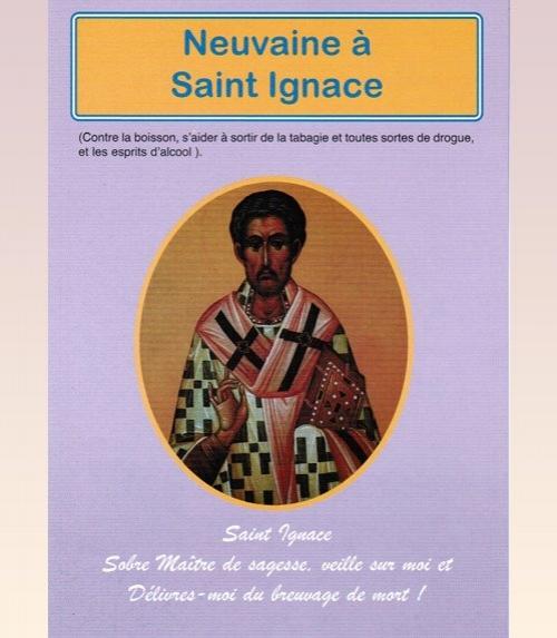 Neuvaine Saint Ignace