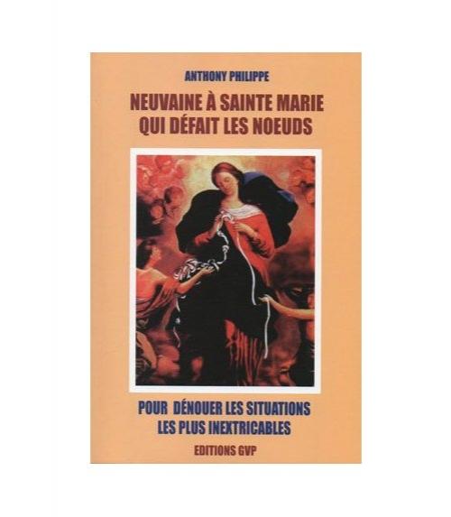 Livret marie qui défait les noeuds (63 pages.)