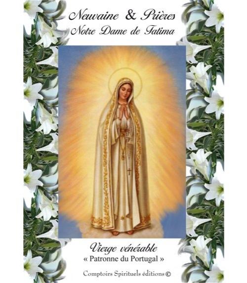 Neuvaine Notre Dame de Fatima - Centenaire des Apparitions 2017