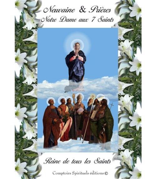 Neuvaine notre dame aux 7 saints