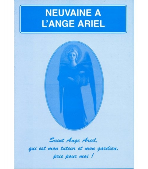 Neuvaine Ange Ariel