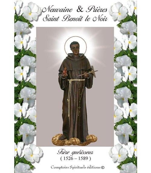 Neuvaine saint Beno�t le Noir (1526 - 1589)