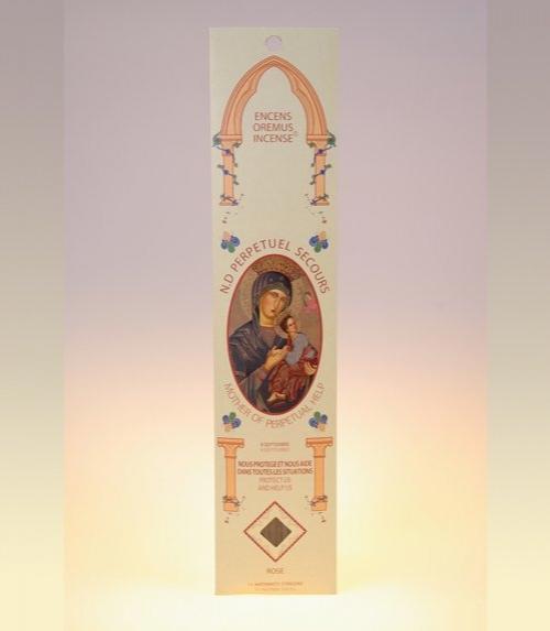 Encens ave maria Notre Dame du Perpétuel Secours (rose)