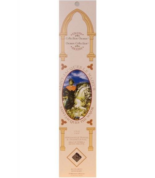 Encens sanctus - saint jacques (verveine)
