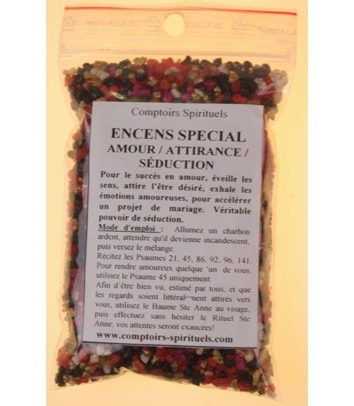 Encens amour-attirance-séduction (120 g)