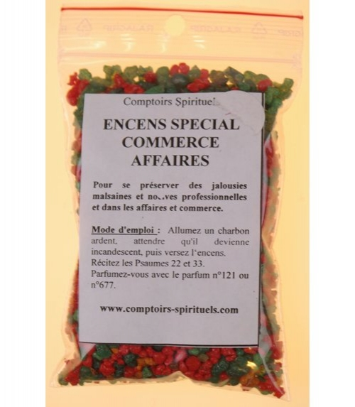 Encens commerce-affaires (120 g)