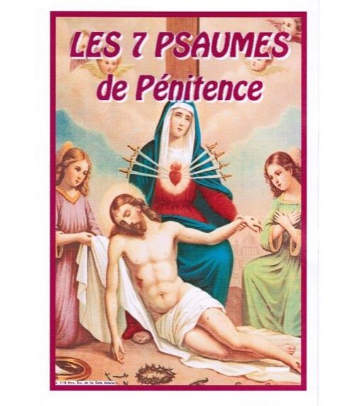 Les sept psaumes de pénitence