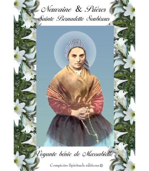 Neuvaine Sainte Bernadette Soubirous (1844-1879)