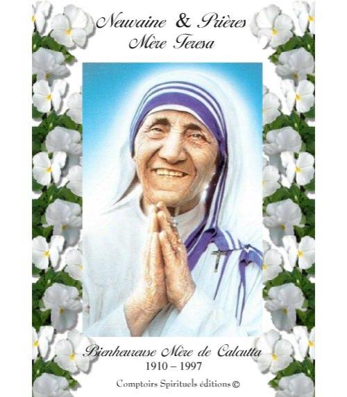 Neuvaine Sainte Mère Teresa (1910-1997)