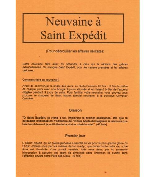 Neuvaine Saint Expédit
