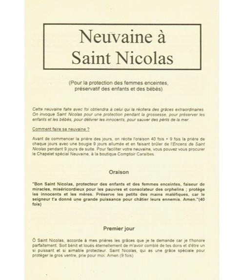 Neuvaine Saint Nicolas