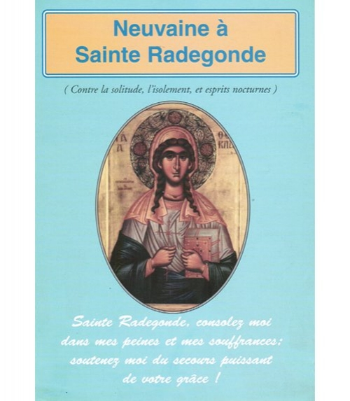 Neuvaine Sainte Radegonde