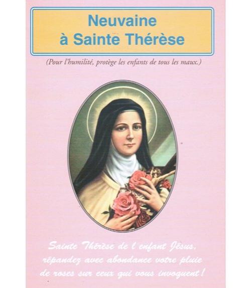Neuvaine Sainte Thérèse