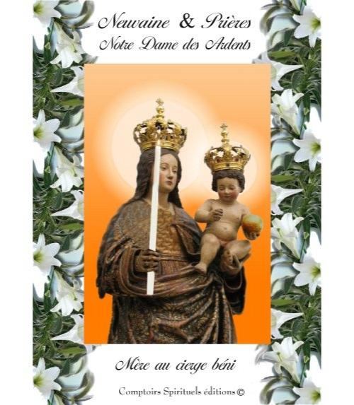 Neuvaine Notre Dame des Ardents